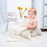 Beautifu happy baby Royalty Free Stock Photos