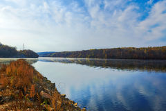 The beautifu reservoir Stock Photography