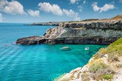 Beautifu Southern coast of Italy Royalty Free Stock Images