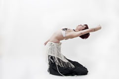 Beautifu tribal belly dancer Royalty Free Stock Photos