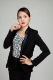 Beautifu young Asian business woman Royalty Free Stock Photography