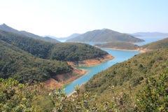 Beautifual krajobraz w sai kung zdjęcie stock