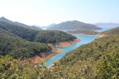 Beautifual landscape in sai kung Stock Photo
