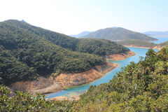 Beautifual landscape in sai kung Royalty Free Stock Images