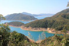 Beautifual landscape in sai kung Stock Images