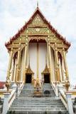 Beautifuk ubosot av Wat Saladang Royaltyfri Fotografi