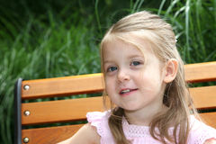Beautiful 2 year old girl Royalty Free Stock Photography