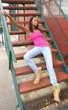 Beautiful 21 Year Old Woman stock photos