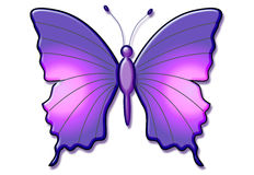 Beautiful 3d Butterfly Stock Images