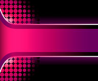 Beautiful 3D pink stripe Stock Photography