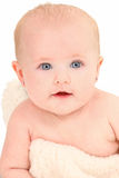 Beautiful 4 month Old Baby Girl Royalty Free Stock Photography