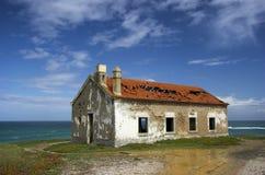 Beautiful Abandoned house stock images