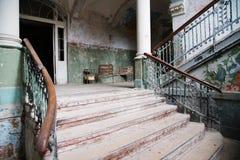 Beautiful abandoned old house Stock Image