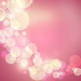 Beautiful abstract background. Of holiday lights Royalty Free Stock Photos