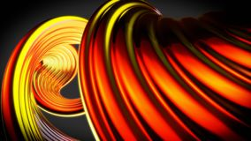 Beautiful abstract background - 3D Illustration royalty free stock images