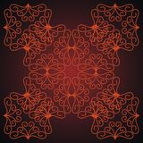 Beautiful abstract background. Dark red background with abstract patterns royalty free illustration