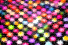 Beautiful Abstract background, dot mosaic colorful tone Royalty Free Stock Image