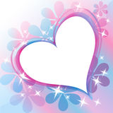 Beautiful Abstract Background with Heart Stock Photos