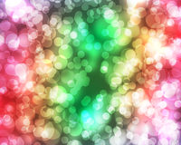 Beautiful abstract background of holiday lights Stock Image