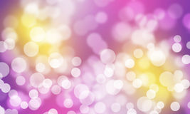 Beautiful abstract background of holiday lights Royalty Free Stock Photography