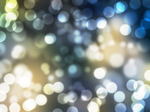 Beautiful abstract background of holiday lights Stock Images