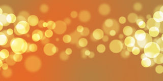 Beautiful abstract background of holiday lights Royalty Free Stock Photos
