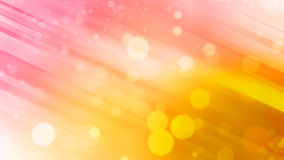 Beautiful Abstract background, pink and yellow tone and bokeh light Royalty Free Stock Photos