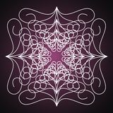Beautiful abstract background. Purple background with abstract patterns royalty free illustration