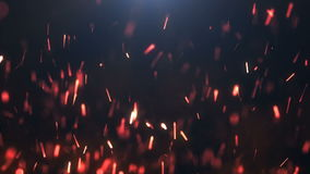 Beautiful abstract background with sparks looped motion animation stock video footage