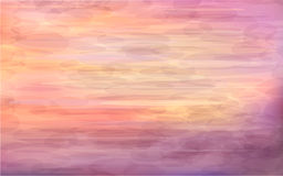 Beautiful abstract background - sunrise on the sea Stock Images