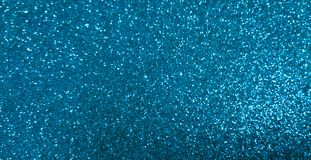 Beautiful abstract Blue Glitter Christmas paper Background. Beautiful abstract Blue Bokeh Background. Holiday Blue texture. Glitter Christmas paper. Wide Angle royalty free stock image