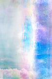 Beautiful abstract blurred background with clouds and light Royalty Free Stock Photography