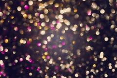 Beautiful abstract bokeh lights Stock Photo