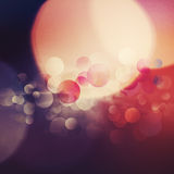 Beautiful abstract bokeh Royalty Free Stock Photos