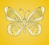 Beautiful abstract butterfly. Stock Image