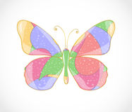 Beautiful abstract butterfly. Stock Photos