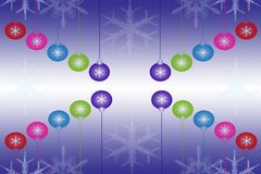 Beautiful abstract christmas light background Stock Images