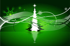 Beautiful abstract Christmas vector background Royalty Free Stock Photo