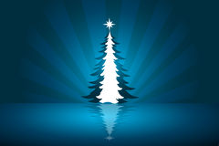 Beautiful abstract Christmas vector background Stock Photos