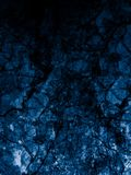 Beautiful abstract close up blue granite and tiles floor on the black darkness background and wallpaper