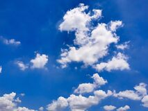 Beautiful abstract cloud and clear blue sky landscape nature, blue background