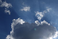 Abstract cloud background. Royalty Free Stock Photo