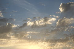 Abstract cloud background. Royalty Free Stock Photos