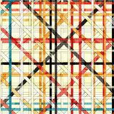 Beautiful abstract color lines on a light background vector illustration Royalty Free Stock Photos