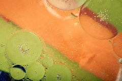 Beautiful abstract colorful background, oil on water surface Stock Images