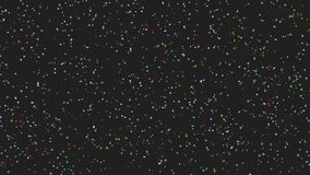 Particle colorful dust stock video footage