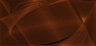 Beautiful Abstract dark orange background wallpaper illustration with copper effect vectors lines vector illustration