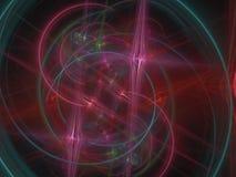 Beautiful abstract colorful digital ornament fractal, advertisement power fantasy design. Beautiful abstract digital fractal, design colorful power fantasy stock illustration