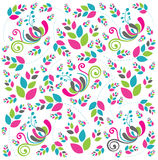 Beautiful abstract floral background in soft pink. Blue and green- Great for textures and backgrounds for your projects Stock Photo
