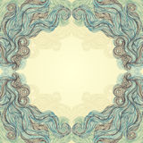 Beautiful abstract frame Royalty Free Stock Photo
